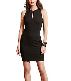 Lauren Ralph Lauren® Keyhole Ponte Sheath Dress