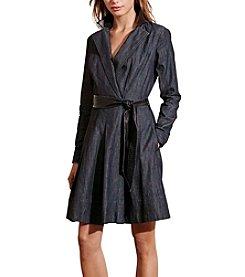 Lauren Ralph Lauren® Denim Wrap Dress