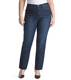 Gloria Vanderbilt® Plus Size Amanda Average Length Denim Jeans