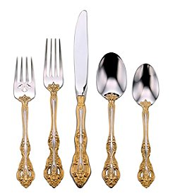 Oneida® Golden Michelangelo Flatware Set