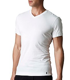 Polo Ralph Lauren® Men's 3-Pack Slim Fit V-Neck Undershirt