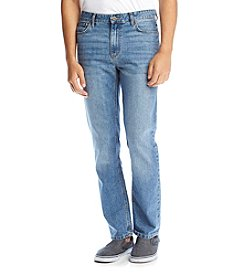 Ruff Hewn Men's Classic Straight Fit Denim Pants