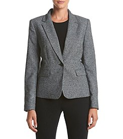 Nine West® One Button Jacket Blazer