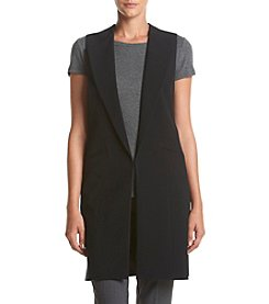 Nine West® Long Open Vest