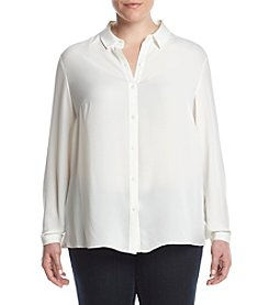 Jones New York® Plus Size Pleat Back Shirt