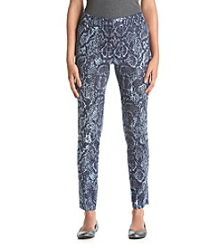 Jones New York® Snake Print Pants