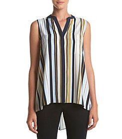 Jones New York® Stripe Envelope Back Tank