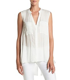 Jones New York® Solid Envelope Back Tank