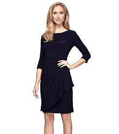 Alex Evenings® Ruched Side Short Cocktail Dress