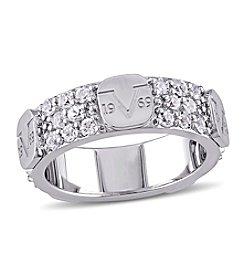 V1969 ITALIA White Sapphire Eternity Ring