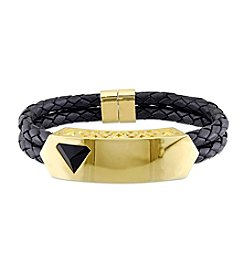 V1969 ITALIA Men's Leather Bracelet