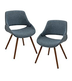 Lumisource® Set of 2 Fabrico Chairs