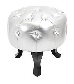 Lumisource® Round Pouf Ottoman