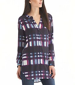 Nine West Jeans® Plaid Chelsea Tunic