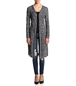 It's Our Time® Marled Pointelle Duster Cardigan Sweater
