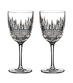 Waterford® Set of 2 Lismore Diamond Goblets