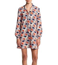 Be Bop Geo Print Dress