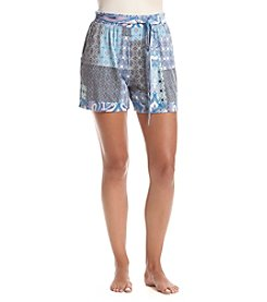 Echo Patchwork Pajama Shorts