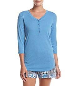 Echo Henley Pajama Shirt