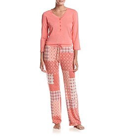 Echo Patchwork Pajama Set