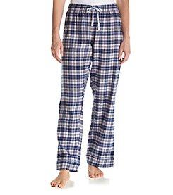 Tommy Hilfiger® Printed Flannel Pajama Pants