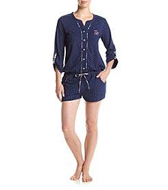 Tommy Hilfiger® Printed Pajama Romper