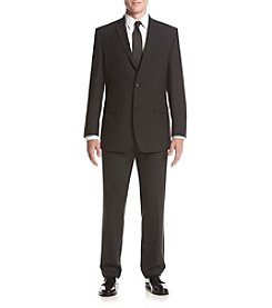 Andrew Marc® Men's Black Plaid Suit