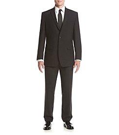 Andrew Marc® Men's Black Plaid Suit