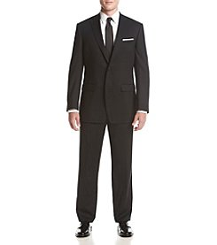 Calvin Klein Men's Black Stripe Suit