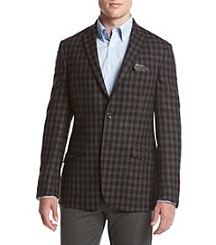 Tallia Orange Men's Brown and Gray Sport Coat