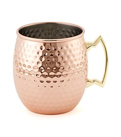 Pfaltzgraff Copper Plated Moscow Mule Hammered Mug