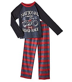 Komar Kids® Boys' 2-Piece National Road Race Pajama Set