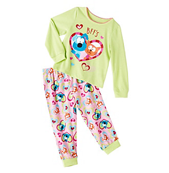 UPC 000716460532 product image for Peas   Carrots Toddler Girl Best Friends  2 Piece Sleep Set UPC 000716460532 product image for Komar Kids® Girls   2T-4T ... e7d5ece00