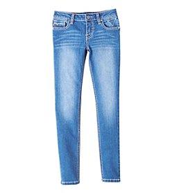 Vigoss® Girls' 7-16 Dazzling Butterfly Skinny Jeans