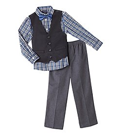 Nautica® Boys' 2T-7X 3-Piece Vest Set