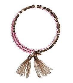 Vera Bradley® Goldtone Beaded Coil Bracelet