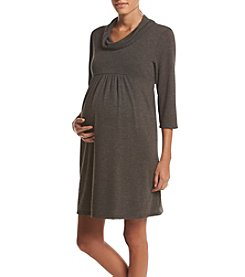 Three Seasons Maternity™ Cowlneck Dress