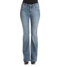 Earl Jean® Heavy Stitch Flat Pocket Bootcut Jeans