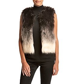Fever™ Faux Fur Ombre Vest