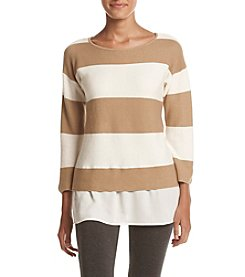 Cupio Wide Striped Sweater