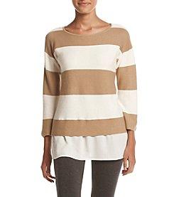 Cupio Wide Striped Sweater