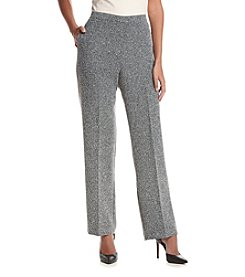 Alfred Dunner® Wrap It Up Short Herringbone Pants
