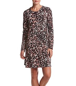 Cupio Scattered Dot Print Aline Dress
