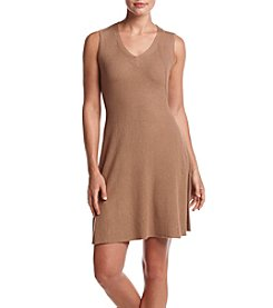 Cupio Ribbed Fit And Flare Sweater Dress