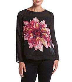 Adiva Floral Print Top