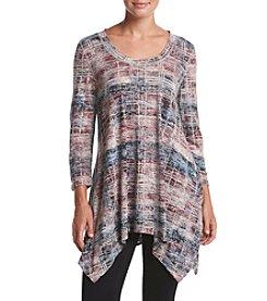 Chelsea & Theodore® Printed Mid Sleeve Tunic