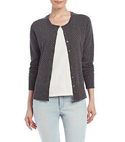 Premise Cashmere® Crew Neck Cardigan Sweater