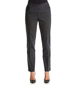 Studio Works® Petites' Pinstripe Pattern Pull On Pants