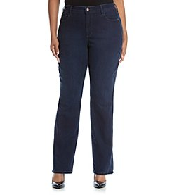 NYDJ® Plus Size Marilyn Straight Leg Jeans