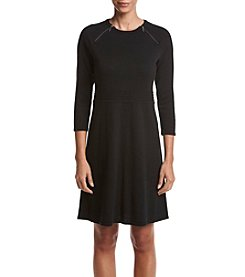 Nine West® Fit And Flare Sweater Dress